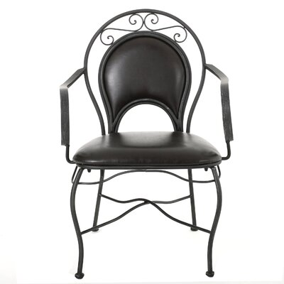 Home Loft Concepts Bleeker Iron Arm Chair