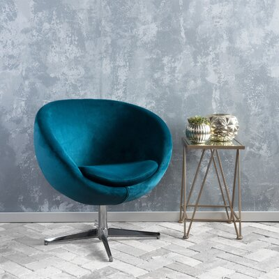 Home Loft Concepts Izzy Modern Barrel Chair