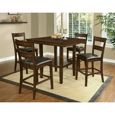 Red Barrel Studio Shorebilly 5 Piece Counter Height Dining Set