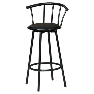 Hazelwood Home Swivel Bar Stool (Set of 4)