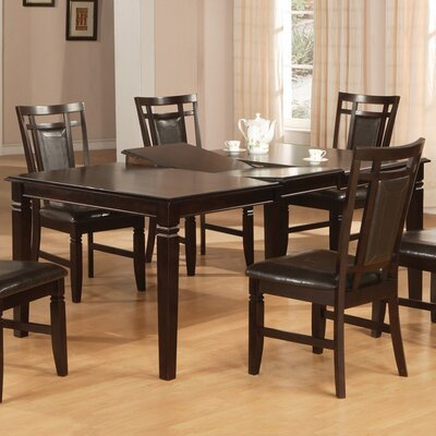 Hazelwood Home 7 Piece Dining Set