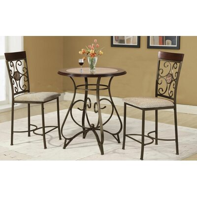 Hazelwood Home Counter Height Dining Table