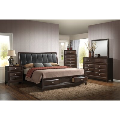 Hazelwood Home Panel Customizable Bedroom Set