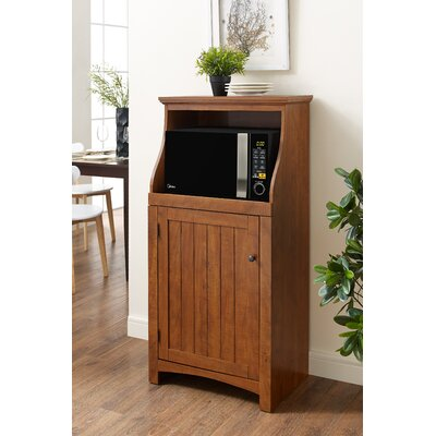Hazelwood Home Microwave Cart