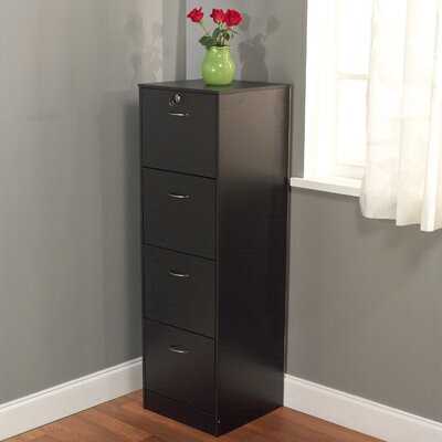 Andover Mills 4 Drawer Filing Cabinet