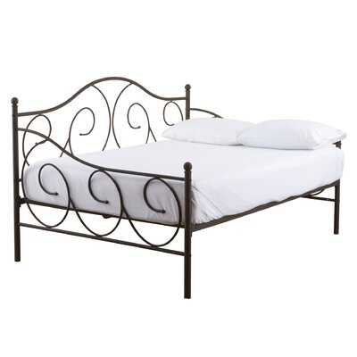 Andover Mills Crestshire Metal Scroll Daybed