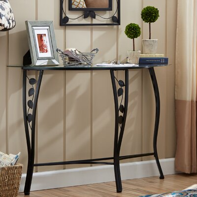 Andover Mills Fletcher Console Table & Mirror Set