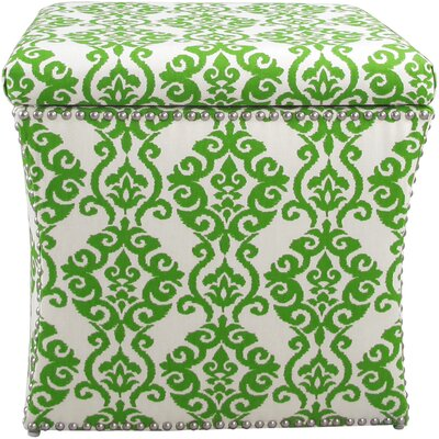 Andover Mills Prower Nail Button Storage Ottoman