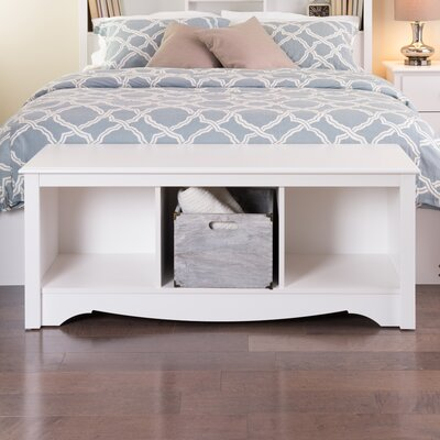 Andover Mills Sybil Storage Bedroom Bench