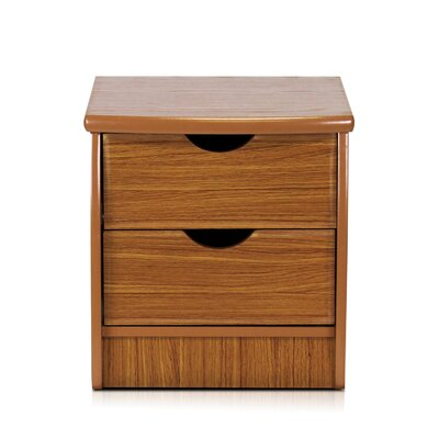 Andover Mills Cree 2 Drawer Nightstand
