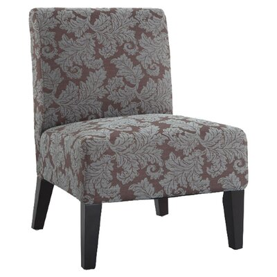 Andover Mills Poppy Fern Slipper Chair