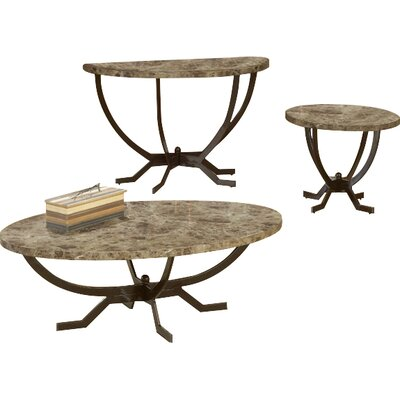 Andover Mills Dana Coffee Table Set