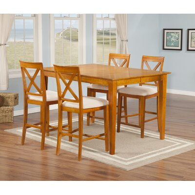 Andover Mills Crestwood 5 Piece Dining Set