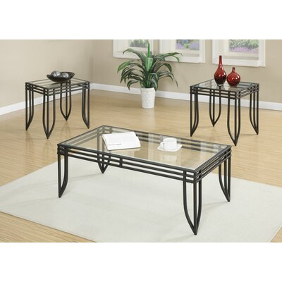 Andover Mills Avella 3 Piece Coffee Table Set