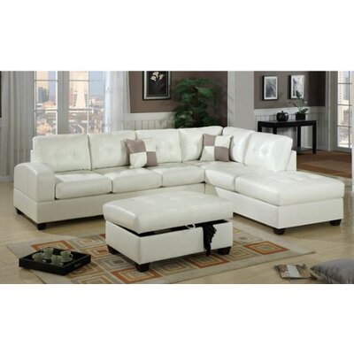 Andover Mills Corporate Reversible Chaise Sectio..