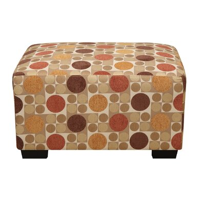 Andover Mills Corporate Flora Ottoman