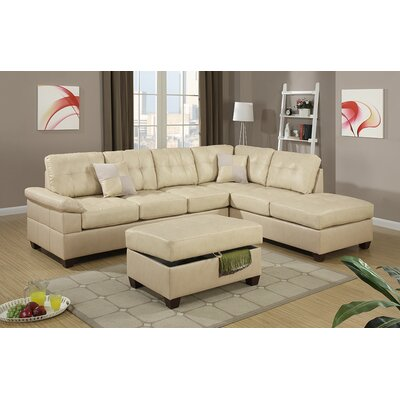 Andover Mills Corporate Reversible Sectional