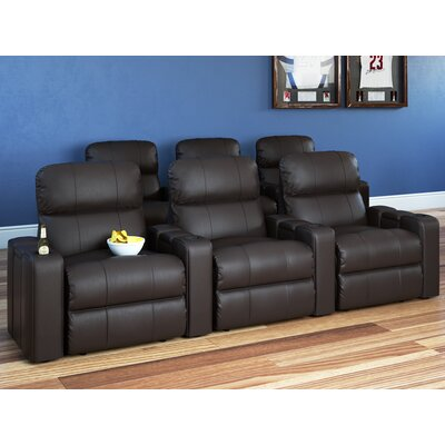 Andover Mills Armstrong Home Theater Recliner (Row of 3)