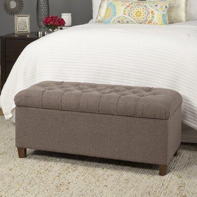 Lovely Andover Mills Halvorson Fabric Storage Bench U0026 Reviews   Wayfair