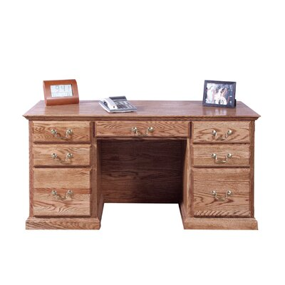 Forest Designs Executive Desk with Corner Drawer