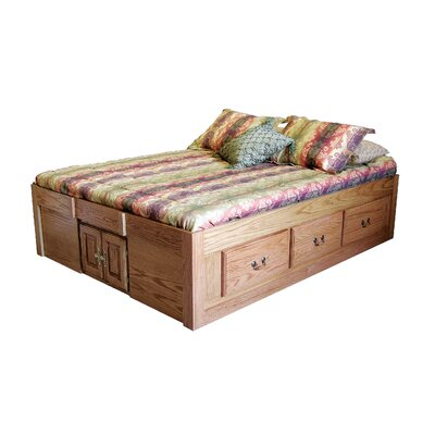 Forest Designs Queen Platform Bed