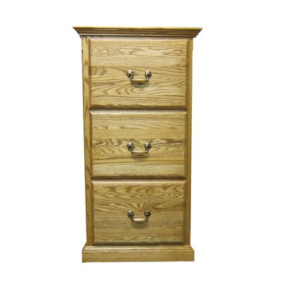 Forest Designs 3-Drawer File C..