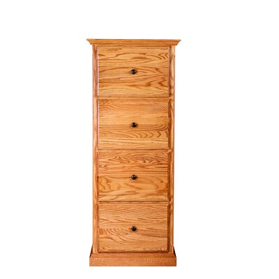 Forest Designs 4 Drawer Vertical File
