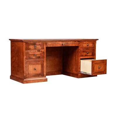 Forest Designs Mission Writing Desk with Knob