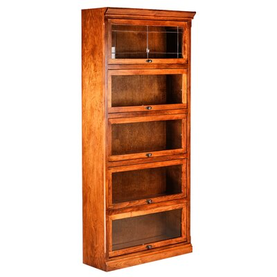 Forest Designs Mission Legal Barrister Bookcase