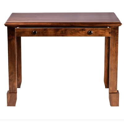 Forest Designs Shaker Writing Desk with Drawer