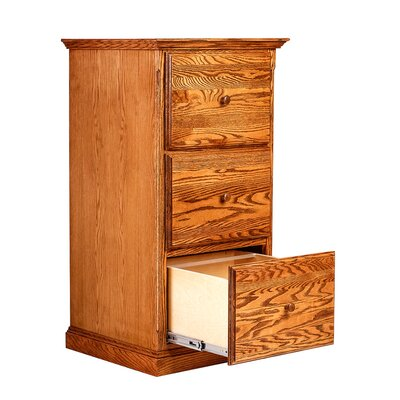 Forest Designs 3 Drawer Vertical File