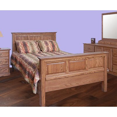 Forest Designs King Panel Customizable Bedroom Set