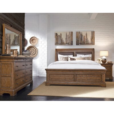 Loon Peak Gilcrest Upholstered Platform Bed
