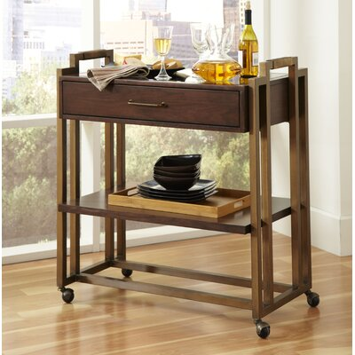 Brayden Studio Fletcher Serving Cart