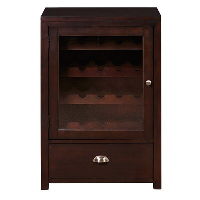 Darby Home Co Briggs 20 Bottle Floor Wine Cabin..