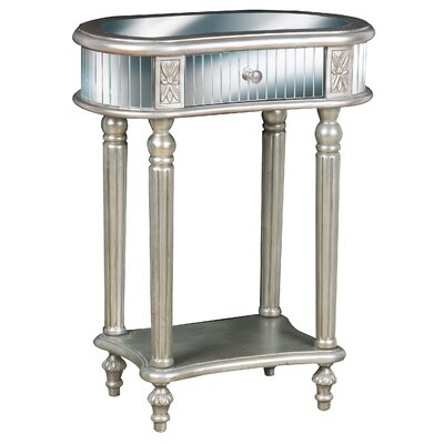 Pulaski Furniture Mirrored End Table