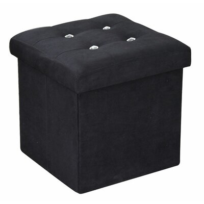 Home Basics Ottoman with Stones