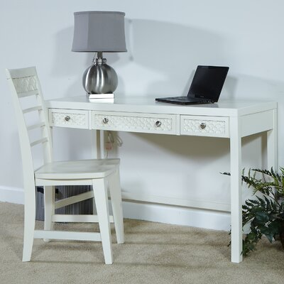 My Home Furnishings Amanda Writing Desk & Chair Set