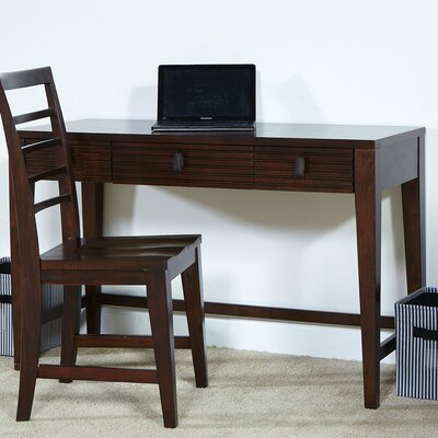 My Home Furnishings Cameron Writing Desk with 2 Drawer