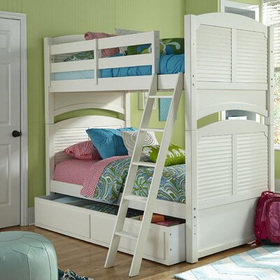 My Home Furnishings Neopolitan Full Bunk Bed with Storage