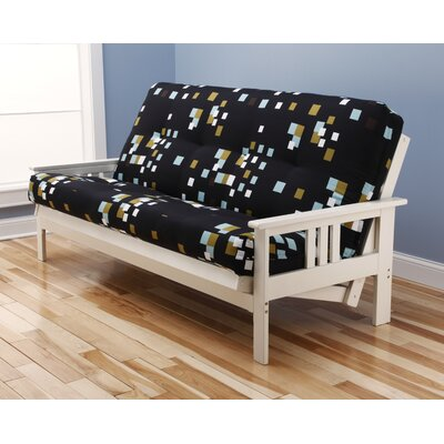 Kodiak Furniture Monterey Modern Blocks Futon and Mattress