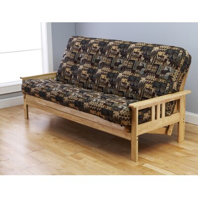 Kodiak Furniture Monterey Peter's Cabin Futon and Mattress