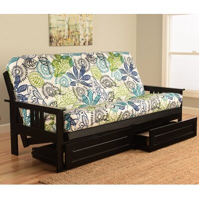 Kodiak Furniture Monterey Bali Black Frame Futon With Mattress
