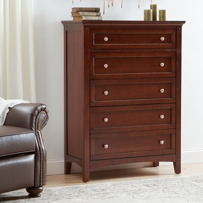 Three Posts Summerville 5 Drawer Chest