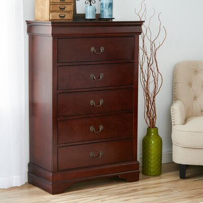 Three Posts Atlasburg 5 Drawer Chest