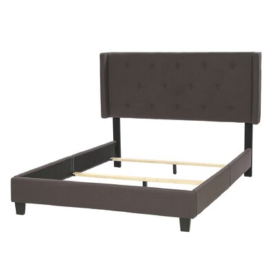 Three Posts Queen Upholstered Panel Bed