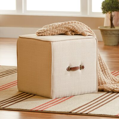 Three Posts Frycrest Cube Ottoman