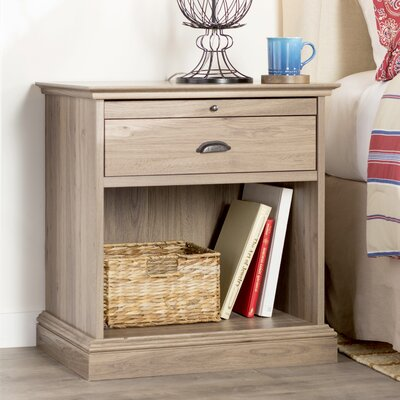 Three Posts Kiantone 1 Drawer Nightstand