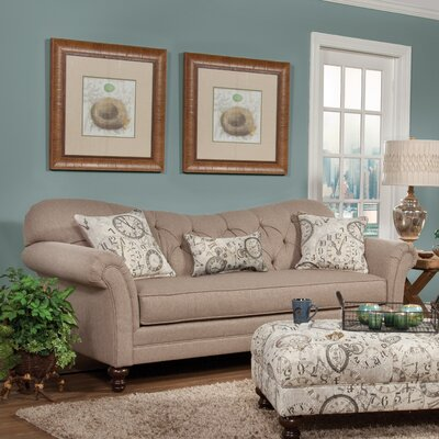 Three Posts Serta Upholstery Wheatfield Sofa