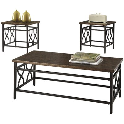 Three Posts Hartwick 3 Piece Coffee Table SetReviewsWayfair
